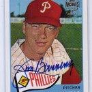 Jim Bunning 2001 Topps Team Topps Legends Autographs #20 Phillies HOF