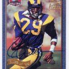 Eric Dickerson HOF Auto 1999 Topps Hall of Fame Autograph Class of 99 #HOF1 Rams