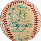 1979 Yankees Team Signed Baseball Autographed Berra, Jackson, Hunter, Lemon