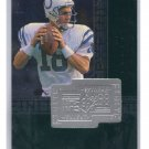 Peyton Manning RC 1998 SPx Finite #287 Rookie Broncos, Colts /7200