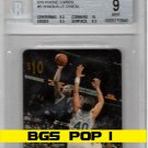 Shaquille O'Neal 1996 Sprint $10 Phone Card #5 BGS 9 Mint  Lakers  Pop 1  Shaq