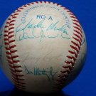 1988 Yankees Team Signed Autographed OAL Baseball Don Mattingly, Guidry, Randolph