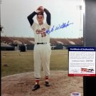 Hoyt Wilhelm HOF Signed Autographed 8 x 10 photo  PSA/DNA Coa Giants Orioles
