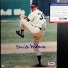 Phil Niekro HOF Signed Autographed 8 x 10 photo  PSA/DNA Coa Braves Yankees