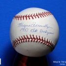 Brooklyn Dodgers Wayne Terwilliger Signed Autographed Official NL Baseball w/Inscription
