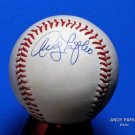 Brooklyn Dodgers Andy Pafko Signed Autographed Official NL Baseball (White)