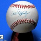 Brooklyn Dodgers Al Epperly Signed Autographed Official NL Baseball (Coleman)