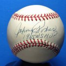 Johnny Podres Brooklyn Dodgers Signed Autographed Official NL Baseball w/Inscription