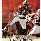 Terrell Owens 1997 Leaf Authentic Signatures Autograph 8x10  49ers, Eagles, Cowboys