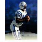 Marvin Harrison 1997 Leaf Authentic Signatures Autograph 8x10 Colts HOF
