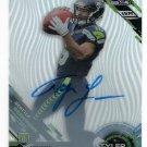 Tyler Lockett RC Auto 2015 Topps High Tek Autographs Pattern 1 Grass/Waves #94 Seahawks