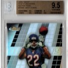 Matt Forte RC Pop 1 2008 Finest Moments Refractor #FMMF Bears Jets #/99 BGS Pop 1