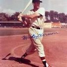 Mickey Vernon Signed Autographed 8 x 10 photo Washington Senators