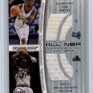 Kevin Garnett Tracy McGrady 2001-02 UD Honor Roll Authentics Dual Game-Used #TM-KGJ Celtics Magic