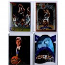 Steve Nash Rookie Lot (4) Card Premium Brands Lot 1996-97 Lakers, Suns, Mavs, Nets