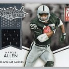 Marcus Allen 2015 Panini Donruss Throwback Threads Jersey #TT-MA  Raiders, HOF