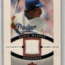 Eddie Murray 2005 Upper Deck Sweet Spot Classic Classic Materials #CM-ED1  Dodgers, Orioles, HOF