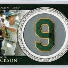 Reggie Jackson 2012 Topps Manufactured Retired Number Patch #RN-RJ  A's, Yankees, HOF