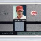 Tom Seaver HOF 2003 Flair Greats Cut of History Memorabilia #TOSE Reds, Red Sox, Mets