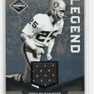 Fred Biletnikoff HOF 2011 Panini Limited Threads Jersey #124 Raiders #99/99