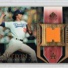 Don Sutton HOF 2004 SP Legendary Cuts Historic Swatches #HS-DS Dodgers