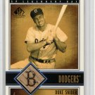 Duke Snider HOF 2002 SP Legendary Cuts Legendary Bat #B-DSN Brooklyn Dodgers