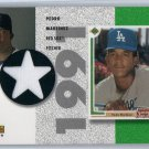 Pedro Martinez HOF 2002 Upper Deck Authentics Retro UD Star Rookies Jerseys #SR-PM Red Sox, Mets