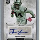 Juron Criner 2012 Panini Playbook Autographs #126 Raiders #/140