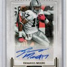Denarius Moore 2012 Panini Playbook Autographs #57  Raiders #/49