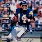 Dan Fouts HOF Auto 1997 Leaf Old School Drafts  #5 Autographed 8 x 10 Chargers