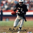 "Cliff Branch Signed Autographed 8 x 10"" Official NFL Photo Raiders PSA/DNA"