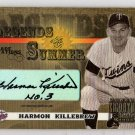 Harmon Killebrew Auto #/10 HOF 2003 Donruss Legends Summer Decade Gold Notations Autograph Twins