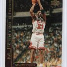 Michael Jordan Insert 1999-00 Upper Deck Ovation MJ Center Stage #CS-10 Bulls HOF