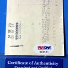 Bill Dickey Autograph Endorsed Signed Check Yankees HOF PSA/DNA coa