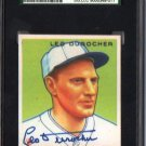 Leo Durocher Signed Reprint Card JSA Certified Autograph SGA Authentic HOF Dodgers Yankees