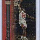Michael Jordan Insert 1999-00 Upper Deck NBA Legends Recollections #R1 Bulls HOF