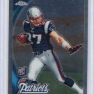 Rob Gronkowski  RC 2010 Topps Chrome Football Rookie Card #C112 New England Patriots