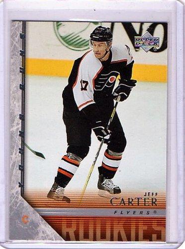 Jeff Carter RC 2005-06 Upper Deck RC #444 Kings, Flyers