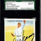 Lefty Gomez Signed 1933 Goudey Reprint JSA Certified SGA Authentic Autograph HOF Yankees
