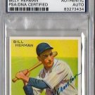 Billy Herman Signed 1933 Goudey Reprint Authentic Autograph - PSA/DNA Certified HOF, Cubs, Dodgers