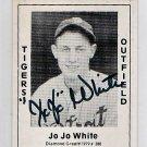 Jo Jo White Signed 1979 Wallin Diamond Greats #388 Authentic Autograph Tigers