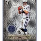 Peyton Manning 2001 Pacific Private Stock Titanium Dual Game-Worn Jerseys #90