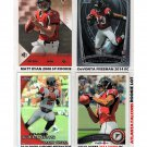 Atlanta Falcons RC Lot (4) Matt Ryan RC Julio Jones RC DeVonta Freeman RC