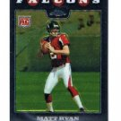 Matt Ryan RC 2008 Topps Chrome Rookie #TC-166 Falcons