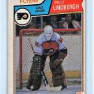 Pelle Lindbergh RC 1983-84 O-Pee-Chee #268 Flyers Rooikie