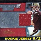 Matt Ryan RC #/250 2008 Playoff Prestige Prestigious Picks Rookie Jersey #PPI-10 Falcons