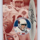 Jake Plummer Auto 1999 Donruss Preferred QBC Preferred Signatures #4 Cardinals Broncos