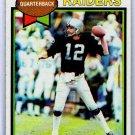 Ken Stabler 1979 Topps #520 Raiders, HOF