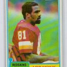 Art Monk RC HOF 1981 Topps #194 Redskins, HOF Rookie Card