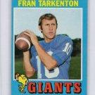 Fran Tarkenton HOF 1971 Topps #120 Vikings
